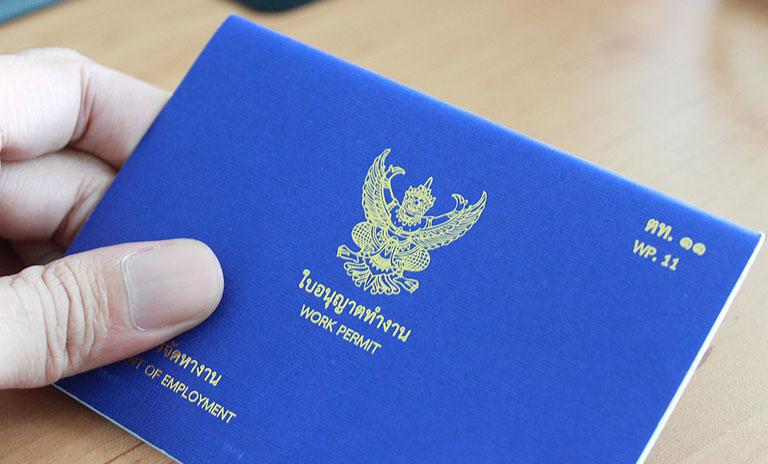 Permesso di lavoro in Thailandia