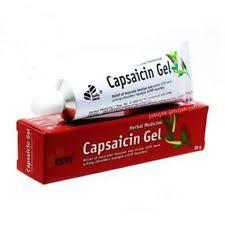 Gel di Capsaicina
