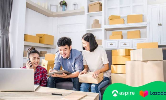 Lazada and Aspire partner to provide online merchants with immediate access to working capital during the COVID-19