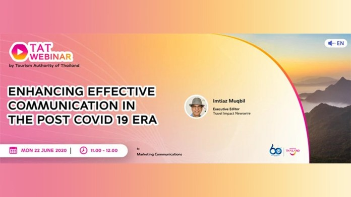 Tat Webinar: Enhancing Effective Communication In The Post Covid 19 Era