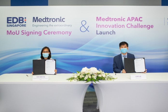 Medtronic proposes to invest up to US$50m for the first-of-its-kind regional Open Innovation Platform to advance the future of healthcare technologies in APAC