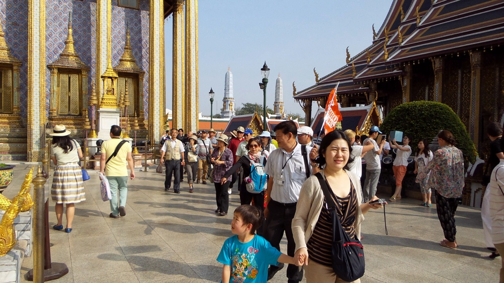Chinese Tourists In Thailand Surged To A Record 1.2 Million In February