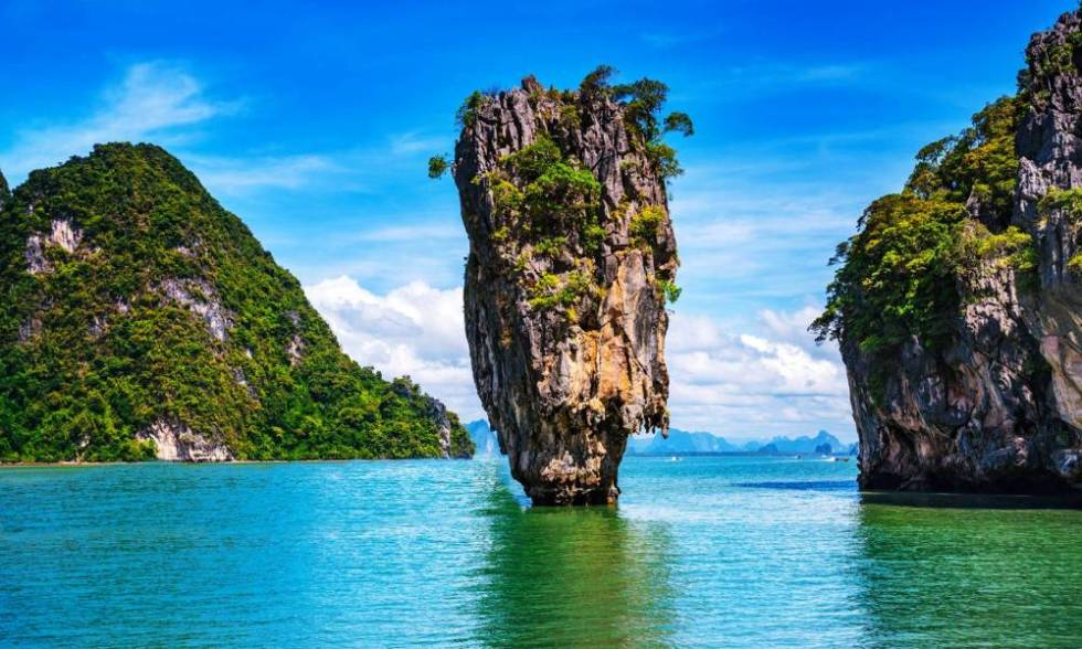 """Diamonds are forever but """"James Bond Island"""" in Phang Nga Bay  may not"""
