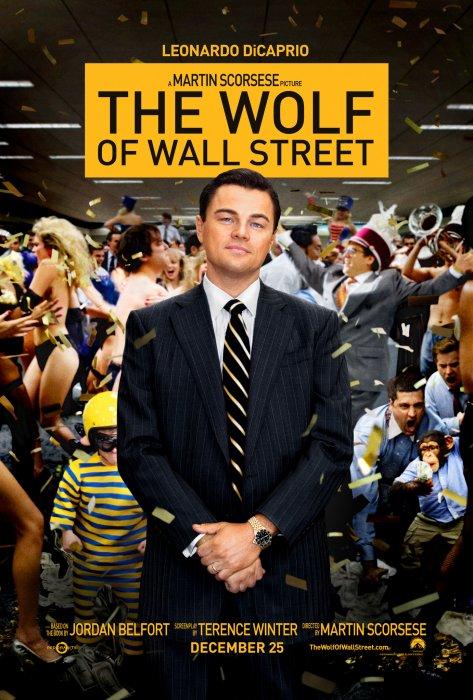 "Copertina di ""The Wolf of Wall Street"""