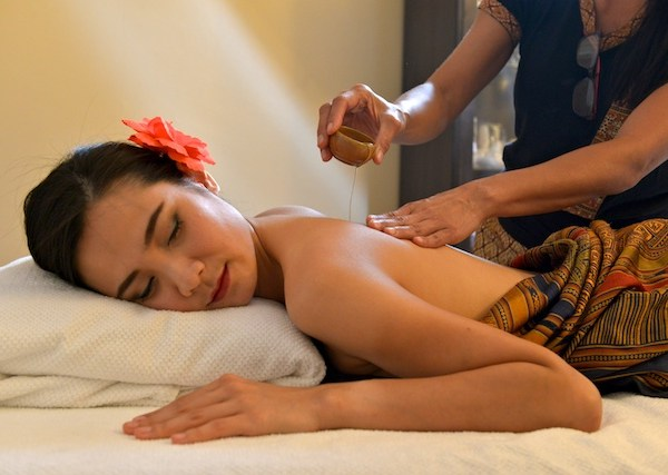 Massage Thaï aux huiles