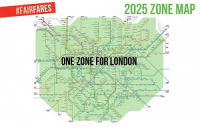 The Green Party's 2025 zone map