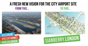 a new vision for London City Airport