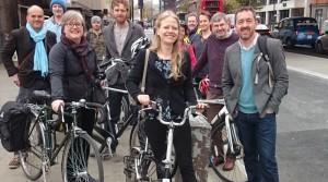 Greens in Southwark with Chris Boardman