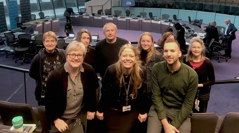 Green AMs and councillors in City Hall