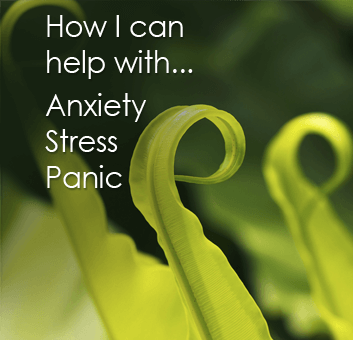 Anxiety, Stress & Panic - Sian Quipp can help