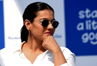 """Indian Bollywood actress Kajol Devgn attends the launch of the environmental campaign """"Start a little Good"""" during the """"Plastic Banega Fantastic"""" event, in Mumbai on January 19, 2019. (Photo by Sujit Jaiswal / AFP)"""