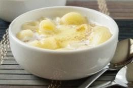 Makarona per mengjes, gati ne 5 minuta. Receta gatimi. qumesht pana