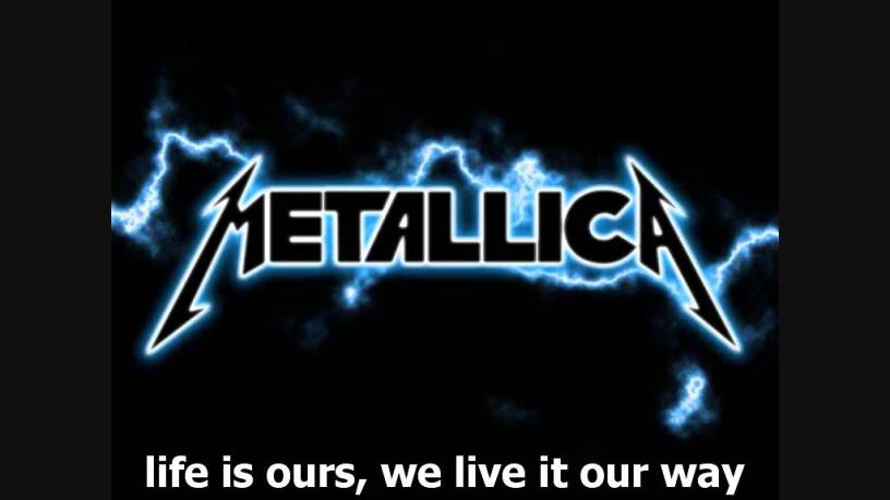 Metallica - Nothing Else Matters (Tekste kengesh) so close no matter how far Forever trusting who we are