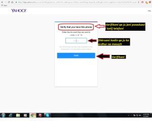 Si te hap nje adrese e-mail (Yahoo). si te hapim . Tutoriale shqip 4