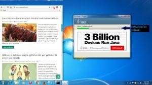 Si te instalojme Java ne kompjuter. Si te bejme update Java. Tutoriale shqip 3 perditesimi