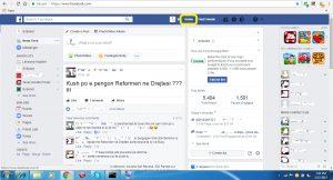Kush shikon profilin tim ne Facebook. Tutoriale shqip. viziton profilin ne 2