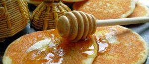 Petulla me mjalte per mengjes. Receta gatimi.
