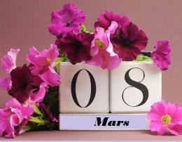 8 Marsi, festa qe c'burgos te gjitha femrat. Gezuar te gjitha femrave!