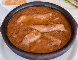 Cervish me mish pule dhe pete te holla. Receta gatimi tradicionale kosovare.