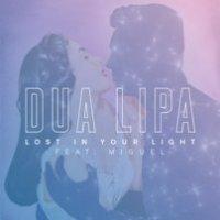 Dua Lipa Feat. Miguel - Lost In Your Light (Lyrics)