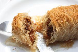 Kadaif me arra.. Gatime tradicionale Shqiptare.