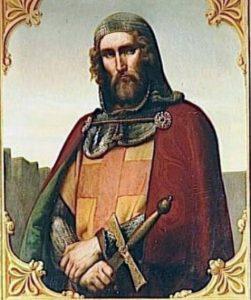 ARBNORET dhe TEMPLARET. Protektoret e shenjte Katolike ne Mbreterine Kryqtare te Qipros 1