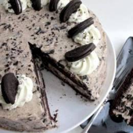 Torte e shpejte me biskota oreo! Receta embelsirash