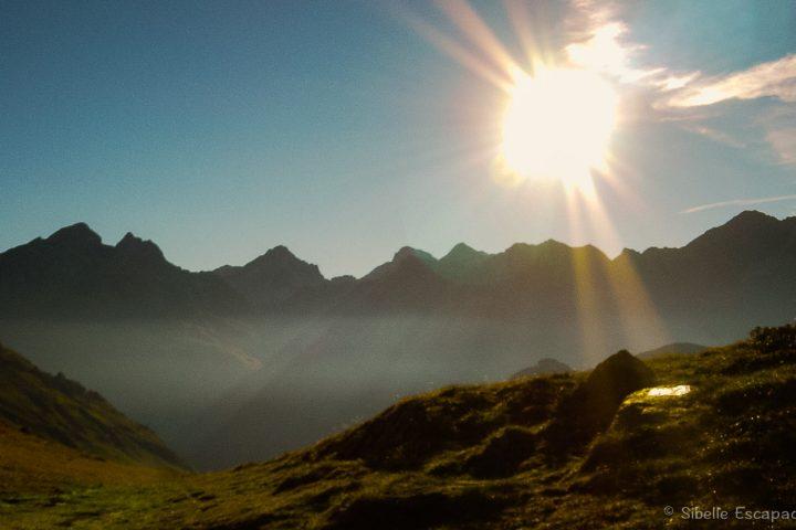 Randonnée paysage Vallée d'Ossau
