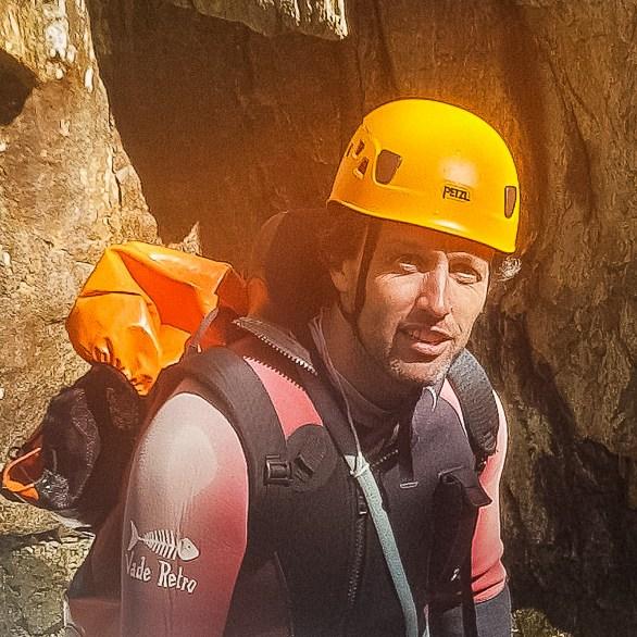 Vincent Milhau moniteur canyoning escalade randonnée