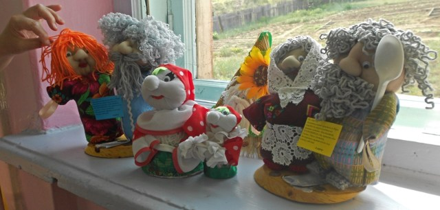 humorous dolls made by the children