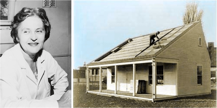 Residential Solar Heating - Women Inventions