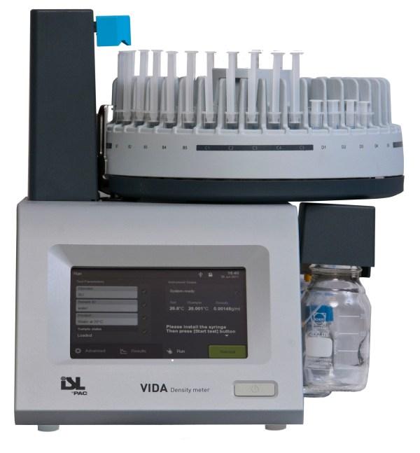analizador automatico de densidad pesada modelo vida 80h sica medicion
