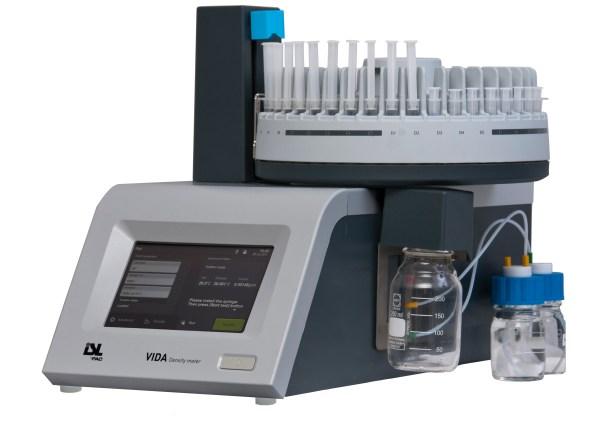 analizador automatico de densidad pesada sica medicion