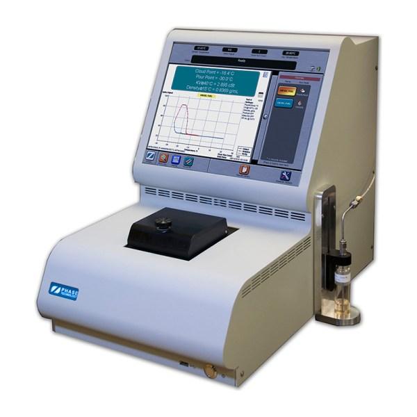 analizador diesel punto de nube escurrimiento viscosidad y densidad sica medicion
