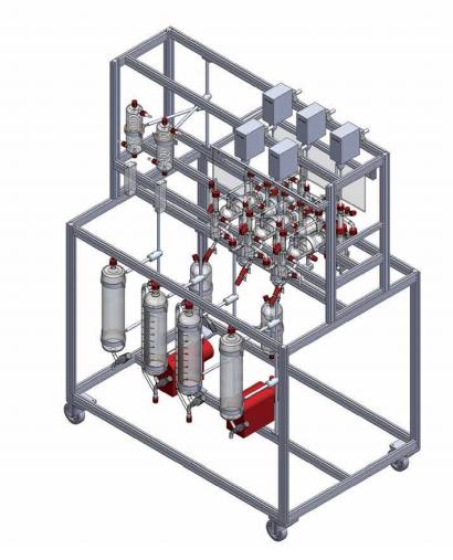 mezclador de laboratorio extractor setter sica medicion