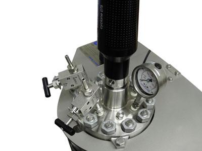 reactor de alta presion marca buchiglasuster sica medicion