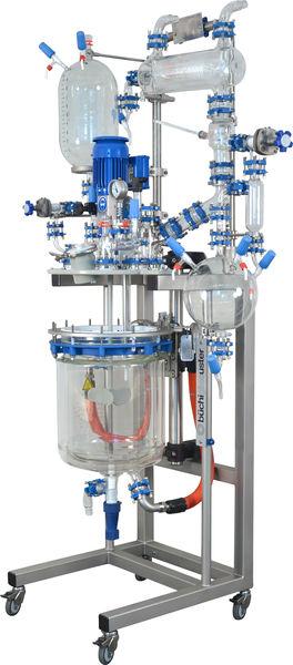 reactor mini planta piloto midipilot marca bucgiglasuster sica medicion