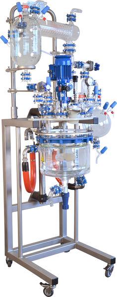 reactor mini planta piloto midipilot sica medicion