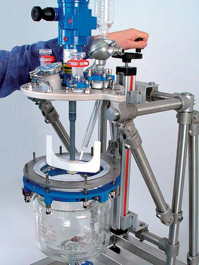 reactor mini planta piloto minipilot marca buchiglasuster sica medicion