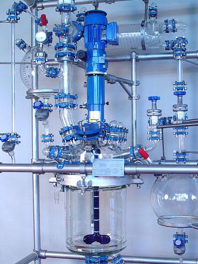 reactor piloto de vidrio chemreactor gr modelo chemreactor gr sica medicion