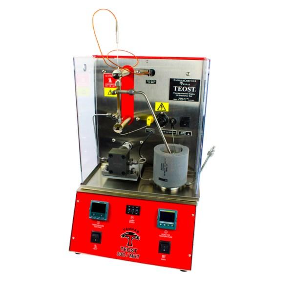 simulacion de aceite de motor termo oxidacion sica medicion