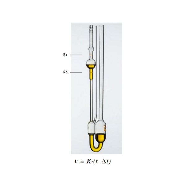 viscosimetros capilares de vidrio modelo ubbelohde sica medicion