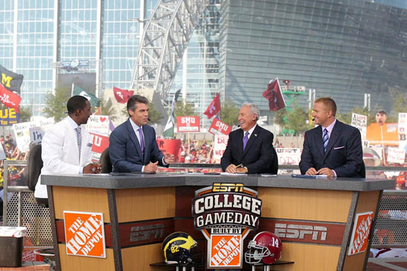 espn college gameday picks today friday night football schedule