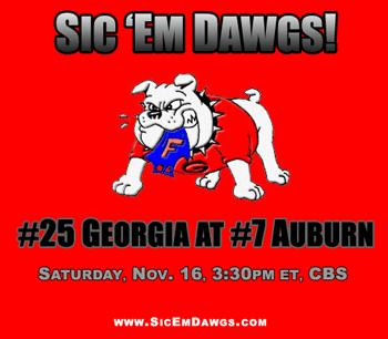 Georgia-Auburn 2013