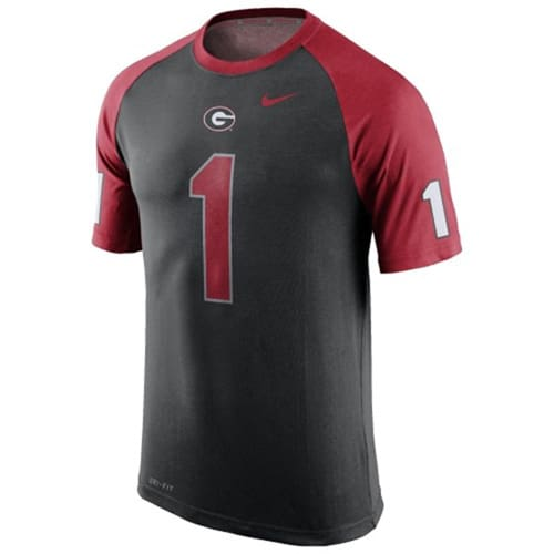 Black Nike UGA T-Shirt