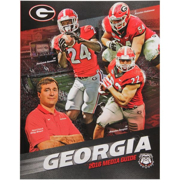 2016 UGA Football Media Guide