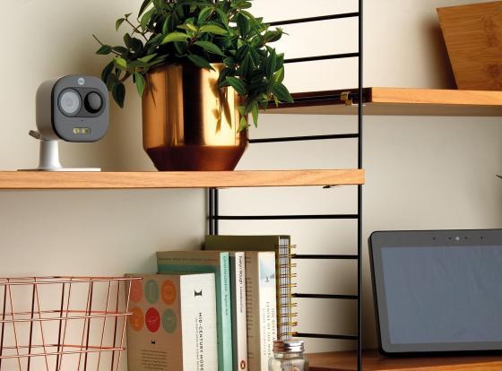 Sowohl die View Indoor IP-Kamera als auch die All-in-One-Kamera sind mit Alexa von Amazon kompatibel.