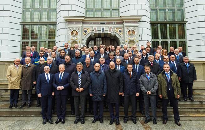 Die Teilnehmer der Konferenz