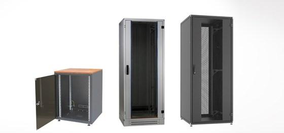 Bei Bedarf ist weiterhin eine Kalt-/Warmgang-Einhausung für die Schrankmodelle der Pro-Serie erhältlich.