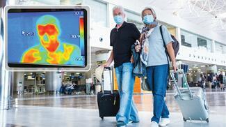 Auf Basis Künstlicher Intelligenz bietet Dahua eine Lösung, die den kontrollierten Gebäudezugang per automatisierter Körpertemperatur-Kontrolle ermöglicht.